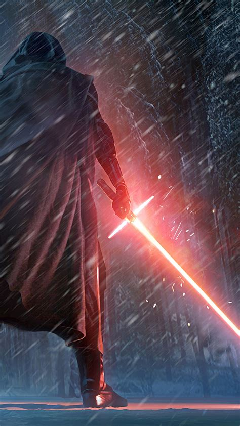 wallpaper kylo ren star wars  force awakens