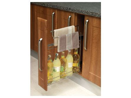 kitchen cabinet accessories uk 150mm pull out storage rail lark larks