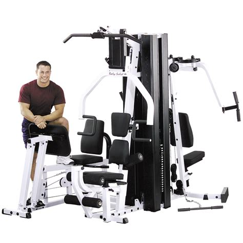 solid exm3000lps system with leg press