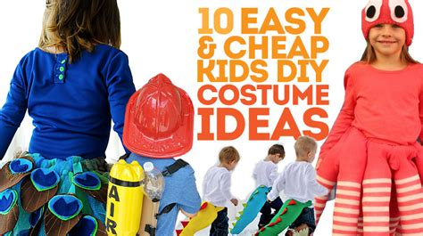 10 Cheap And Easy Diy 10 Cheap And Easy Costumes