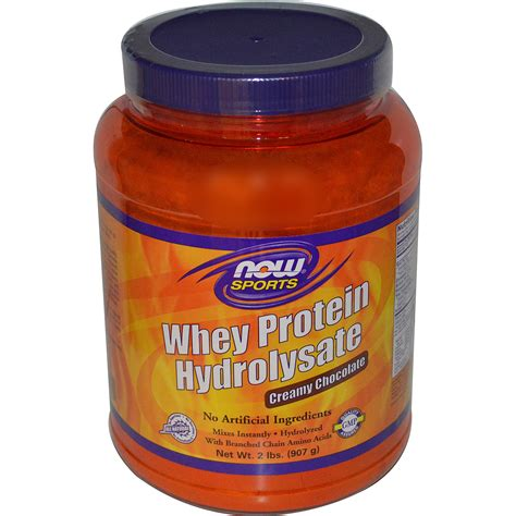 Whey Hydrolysate Now Foods Sports Whey Protein Hydrolysate