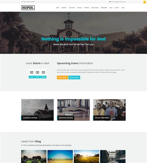 best church wordpress themes churchthemes com