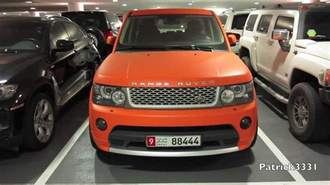 orange range rover matte orange range rover supercharged youtube