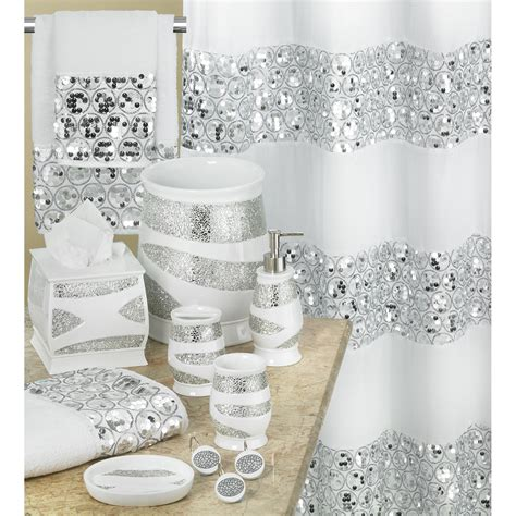 Bathroom Accessory Sets With Shower Curtain Curtain Bathroom Accessory Sets With Shower Curtain