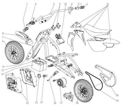 razor electric dirt bike wiring diagram razor free