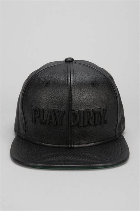 Topi Undefeated Cap Hat Snapback outfitters undefeated play faux leather snapback hat where to buy how to wear