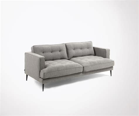Canape Confortable En Tissu by Craquez Pour Ce Canap 233 3 Places Confortable Et Design En Tissu