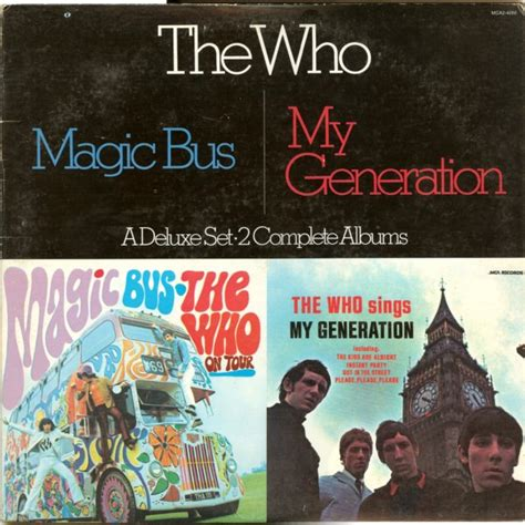who sings my the who magic the who sings my generation vinyl