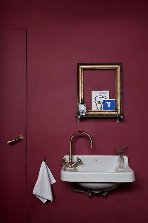 Burgundy Bathroom Wall Burgundy Bathroom Wall Bathroom