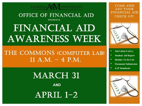 Florida Mba Financial Aid by Office Of Financial Aid Florida Agricultural And