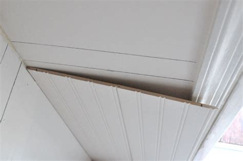 Wainscoting Outside Corner by How To Install Beadboard Wainscoting One Project Closer