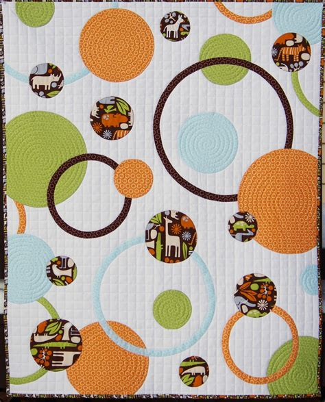 Quilting Circles by Ahhh Quilting Circles And Rings Baby Quilt
