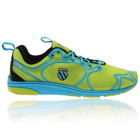 k swiss free running shoes k swiss womens k ruuz green sneakers seamfree superfoam