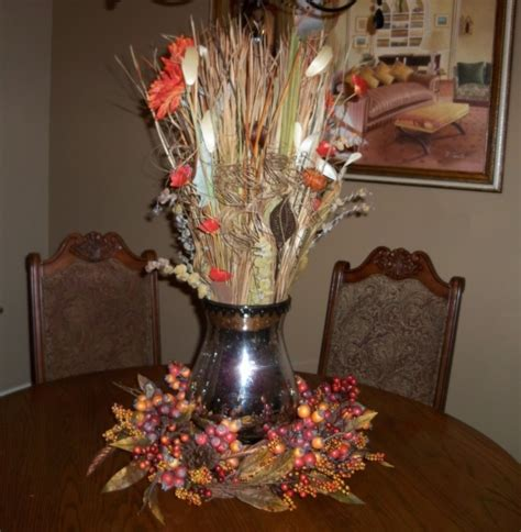 home decor centerpieces fall formal dining table centerpiece home decor pinterest