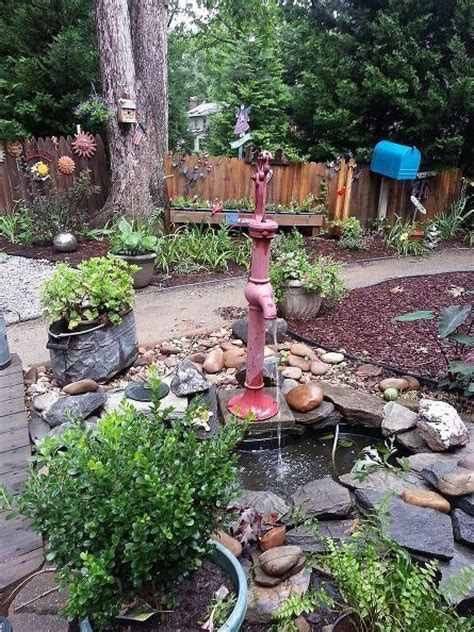 backyard water pump 38 best images about garden water features on pinterest