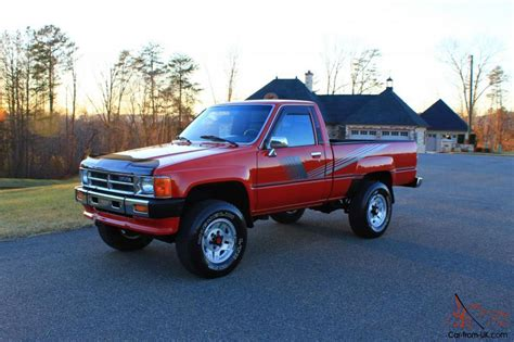 toyota 4x4 87 toyota 4x4 pickup 22r a c free shipping time
