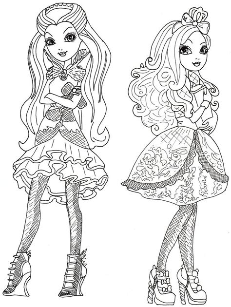 ever after high raven queen legacy day coloring pages 65 best images about ever after high on pinterest