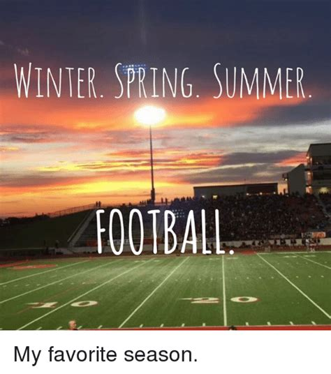 Why Summer Is My Favorite Season Of The Year Essay by Winter Summer Football My Favorite Season Winter Meme On Sizzle