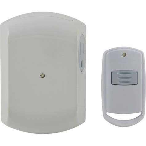 L Dimmer Walmart by Ge 18279 Wall Switch Light Remote With 1 Outlet