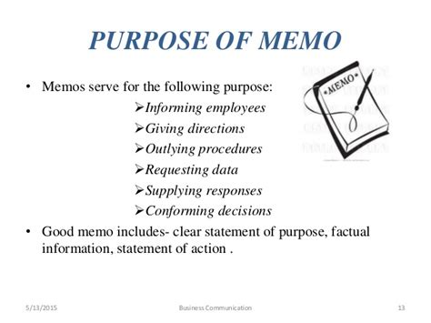 Memo Format In Business Communication business communication