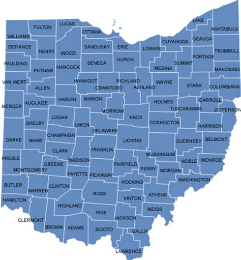 State Of Ohio Address Lookup County Search Buckeye State Sheriffs Association