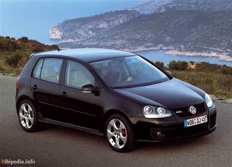 golf gti 5 porte golf v gti 5 portes 2004 2008 volkswagen photo