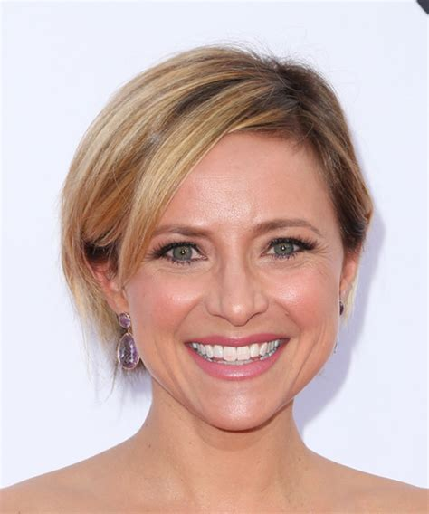 christine michael with short hair short straight womens hairstyles for oval face shape