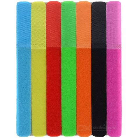 colored velcro ct 01 velcro wires cables cords management organizer