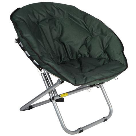 Folding Padded Patio Chairs 2 X Azuma Padded Folding Outdoor Cing Festival Garden Moon Chair Seat Green