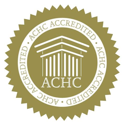 infinity homcare proudly recieves the achc gold seal