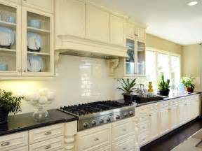 pictures of kitchen tile backsplash kitchen backsplash tile ideas hgtv