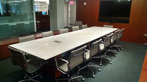 Quartz Conference Table Contemporary Conference Tables Arnold Contract