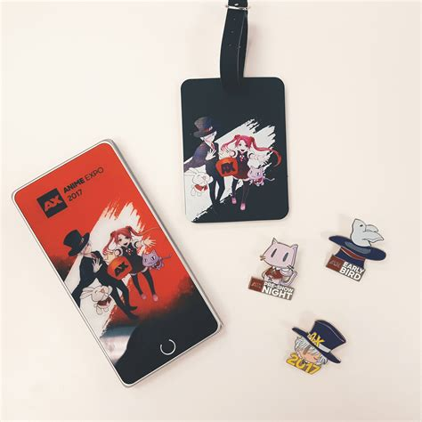 ax 2017 merchandise preview part one anime expo