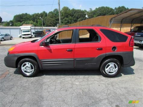 pontiac aztek red bright red 2001 pontiac aztek gt exterior photo 57633097