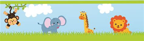 baby jungle animal border clip safari border clipart clipart suggest