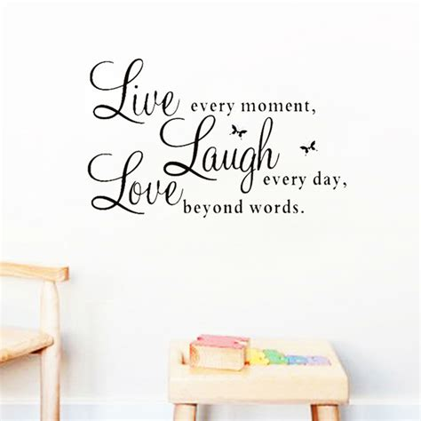 removable wall stickers quotes live laugh quotes wall decals zooyoo1002 home