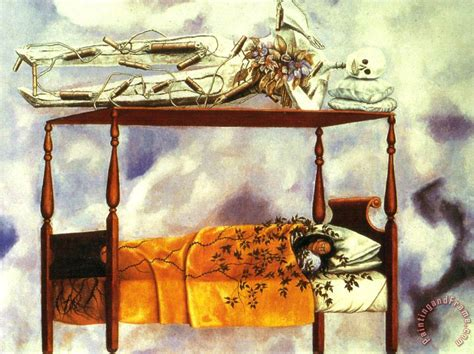 the dream bed frida kahlo the dream the bed 1940 painting the dream