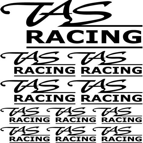 Tas Motor Racing naklejkascienna komplet naklejek tas racing
