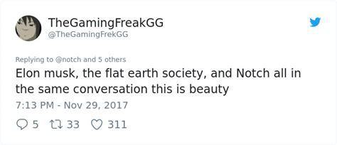elon musk flat earth society elon musk crushes the flat earth society with one simple