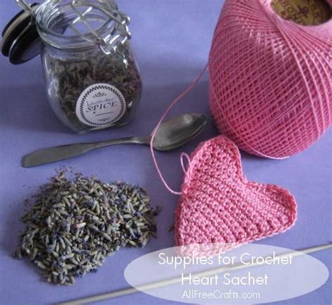 pattern for heart shaped lavender bags crochet heart sachet free pattern