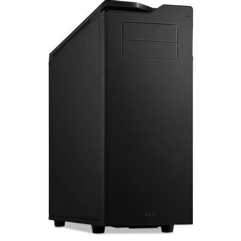 Casing Nzxt H630 Black White nzxt h630 tower matte black ca h630fm1 b h photo