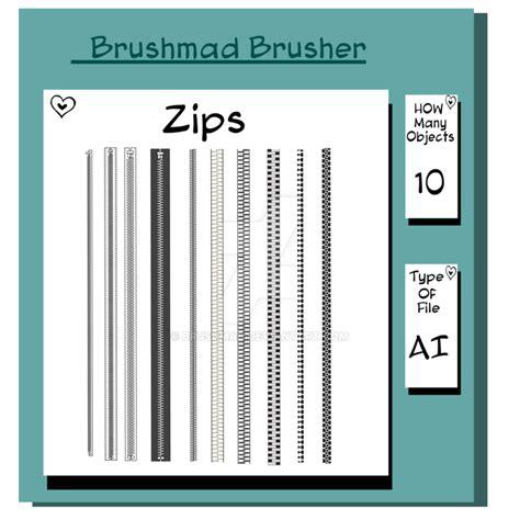 adobe illustrator cs6 zip file illustrator zip brush by brushmad on deviantart