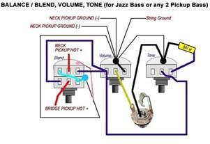 vbt wiring diagram passive fender jazz bass talkbass