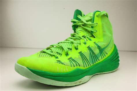 green nike basketball shoes nike hyperdunk sz 9 green 2014 mens basketball shoes