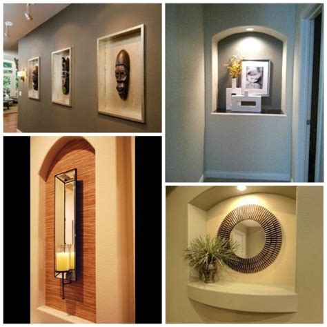 foyer niche ideas how to decorate a niche pinteres