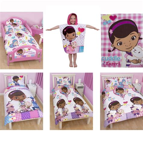 doc mcstuffins bedroom bedding duvet covers in single and