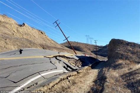 Job In Nursery by California Road Buckles Into A Warped Wave In Matter Of