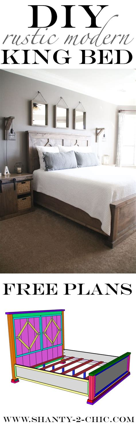 diy rustic bed frame best 25 diy bed frame ideas on bed ideas