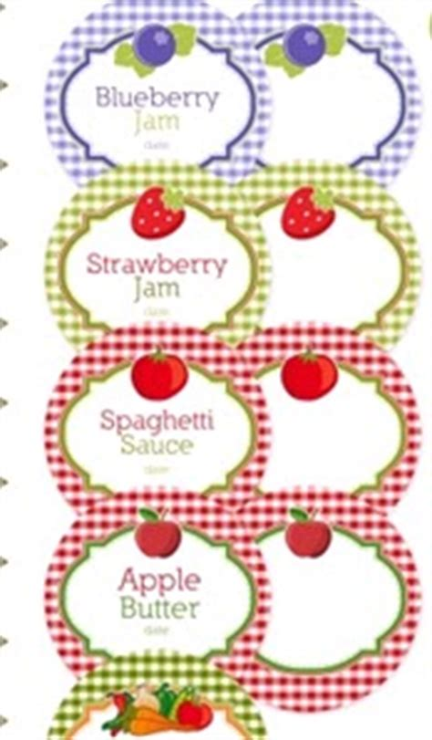 free printable jar labels for home canning jar labels just plane and simple green living free printable canning