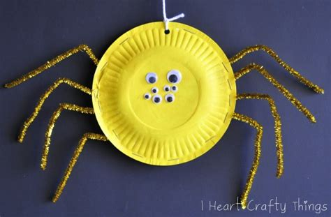 Paper Spider Craft - 101 crafts with paper plates northshore parent